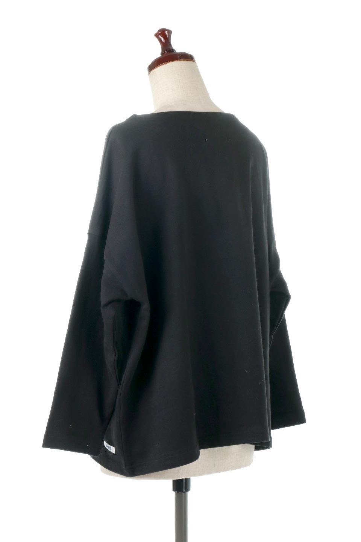 CottonSweatBoxSilhouetteTopボックスシルエット・長袖スウェット大人カジュアルに最適な海外ファッションのothers(その他インポートアイテム)のトップスやカットソー。肉厚なコットン100%の生地を使ったボックスシルエットのカットソー。ワイドなシルエットながら短めの丈ですっきりとした印象になります。/main-18