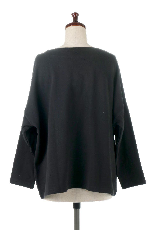 CottonSweatBoxSilhouetteTopボックスシルエット・長袖スウェット大人カジュアルに最適な海外ファッションのothers(その他インポートアイテム)のトップスやカットソー。肉厚なコットン100%の生地を使ったボックスシルエットのカットソー。ワイドなシルエットながら短めの丈ですっきりとした印象になります。/main-19