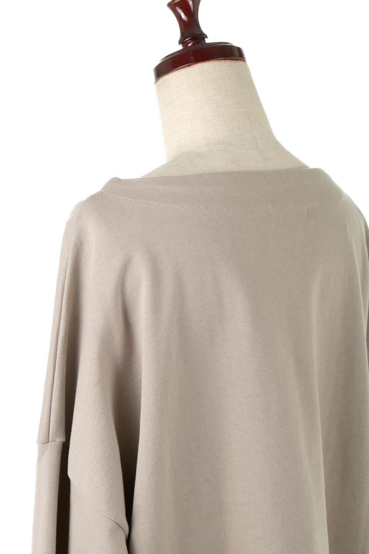 CottonSweatBoxSilhouetteTopボックスシルエット・長袖スウェット大人カジュアルに最適な海外ファッションのothers(その他インポートアイテム)のトップスやカットソー。肉厚なコットン100%の生地を使ったボックスシルエットのカットソー。ワイドなシルエットながら短めの丈ですっきりとした印象になります。/main-21