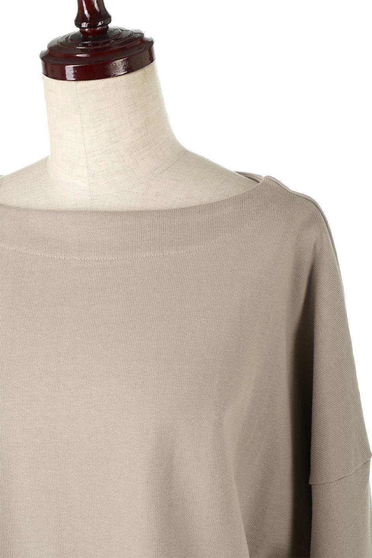CottonSweatBoxSilhouetteTopボックスシルエット・長袖スウェット大人カジュアルに最適な海外ファッションのothers(その他インポートアイテム)のトップスやカットソー。肉厚なコットン100%の生地を使ったボックスシルエットのカットソー。ワイドなシルエットながら短めの丈ですっきりとした印象になります。/main-22