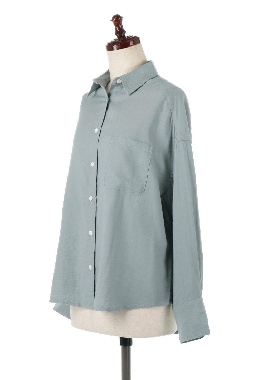 LooseFitLongSleeveLinenShirtsコットンリネン・ベーシックシャツ大人カジュアルに最適な海外ファッションのothers(その他インポートアイテム)のトップスやシャツ・ブラウス。コットン、リネン、レーヨンを使用し、ナチュラル素材にしなやかさをプラスするレーヨンを混ぜたルーズフィットスタイルのシャツ。くたっと柔らかでベーシックなスタイルの着回しやすいアイテムです。/main-11