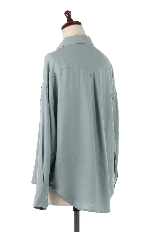 LooseFitLongSleeveLinenShirtsコットンリネン・ベーシックシャツ大人カジュアルに最適な海外ファッションのothers(その他インポートアイテム)のトップスやシャツ・ブラウス。コットン、リネン、レーヨンを使用し、ナチュラル素材にしなやかさをプラスするレーヨンを混ぜたルーズフィットスタイルのシャツ。くたっと柔らかでベーシックなスタイルの着回しやすいアイテムです。/main-13