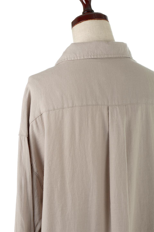 LooseFitLongSleeveLinenShirtsコットンリネン・ベーシックシャツ大人カジュアルに最適な海外ファッションのothers(その他インポートアイテム)のトップスやシャツ・ブラウス。コットン、リネン、レーヨンを使用し、ナチュラル素材にしなやかさをプラスするレーヨンを混ぜたルーズフィットスタイルのシャツ。くたっと柔らかでベーシックなスタイルの着回しやすいアイテムです。/main-17