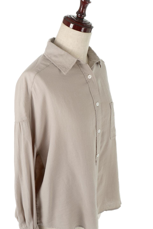 LooseFitLongSleeveLinenShirtsコットンリネン・ベーシックシャツ大人カジュアルに最適な海外ファッションのothers(その他インポートアイテム)のトップスやシャツ・ブラウス。コットン、リネン、レーヨンを使用し、ナチュラル素材にしなやかさをプラスするレーヨンを混ぜたルーズフィットスタイルのシャツ。くたっと柔らかでベーシックなスタイルの着回しやすいアイテムです。/main-18