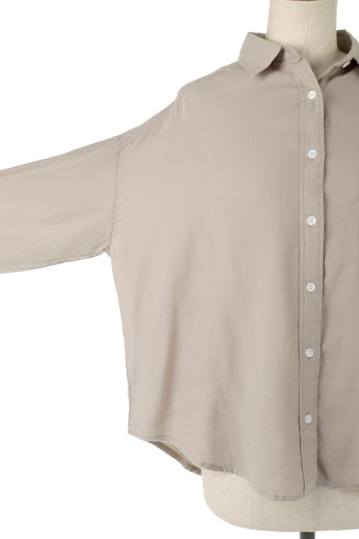 LooseFitLongSleeveLinenShirtsコットンリネン・ベーシックシャツ大人カジュアルに最適な海外ファッションのothers(その他インポートアイテム)のトップスやシャツ・ブラウス。コットン、リネン、レーヨンを使用し、ナチュラル素材にしなやかさをプラスするレーヨンを混ぜたルーズフィットスタイルのシャツ。くたっと柔らかでベーシックなスタイルの着回しやすいアイテムです。/main-19
