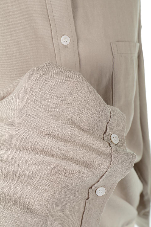 LooseFitLongSleeveLinenShirtsコットンリネン・ベーシックシャツ大人カジュアルに最適な海外ファッションのothers(その他インポートアイテム)のトップスやシャツ・ブラウス。コットン、リネン、レーヨンを使用し、ナチュラル素材にしなやかさをプラスするレーヨンを混ぜたルーズフィットスタイルのシャツ。くたっと柔らかでベーシックなスタイルの着回しやすいアイテムです。/main-22