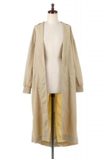 海外ファッションや大人カジュアルに最適なインポートセレクトアイテムのWater Repellent Spring Long Coat 撥水加工・スプリングコート