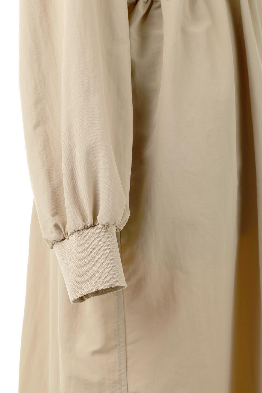 WaterRepellentCollarlessSpringCoat撥水加工・ノーカラースプリングコート大人カジュアルに最適な海外ファッションのothers(その他インポートアイテム)のアウターやコート。ナイロン素材に撥水加工を施したノーカラーで一枚仕立てのスプリングコート。袖口はリブ仕様になっており、ウエスト周りにドロスト採用し動きをつけられるのも魅力のアイテム。/main-15