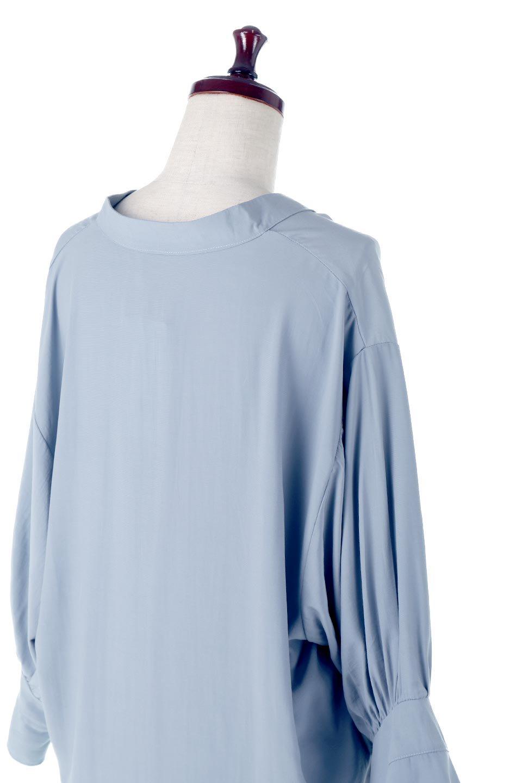 FrillSleeveSlitNeckBlouse袖フリル・キーネックブラウス大人カジュアルに最適な海外ファッションのothers(その他インポートアイテム)のトップスやシャツ・ブラウス。さりげない袖のフリルが可愛らしすぎずオトナな印象のブラウス。くびもとはVネックになっているのですっきりして、パンツにもスカートにも合わせやすい丈感。/main-17