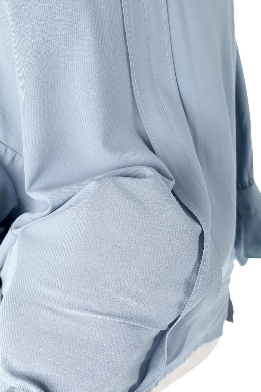 FrillSleeveSlitNeckBlouse袖フリル・キーネックブラウス大人カジュアルに最適な海外ファッションのothers(その他インポートアイテム)のトップスやシャツ・ブラウス。さりげない袖のフリルが可愛らしすぎずオトナな印象のブラウス。くびもとはVネックになっているのですっきりして、パンツにもスカートにも合わせやすい丈感。/main-23