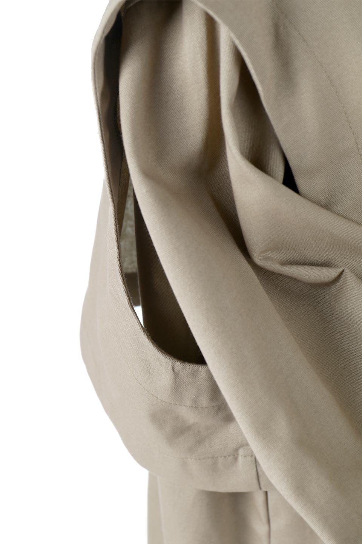 TwillFauxLayeredFullOpenDressコットンツイル・ワンピースコート大人カジュアルに最適な海外ファッションのothers(その他インポートアイテム)のアウターやコート。クラシカルなヨークデザインが新鮮なコットンツイルのワンピースコート。シルエットが綺麗に見えるコットンツイルのハリ感のある生地を使用。/main-19