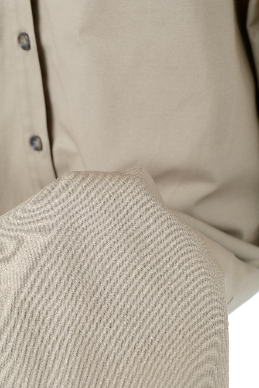 TwillFauxLayeredFullOpenDressコットンツイル・ワンピースコート大人カジュアルに最適な海外ファッションのothers(その他インポートアイテム)のアウターやコート。クラシカルなヨークデザインが新鮮なコットンツイルのワンピースコート。シルエットが綺麗に見えるコットンツイルのハリ感のある生地を使用。/main-22