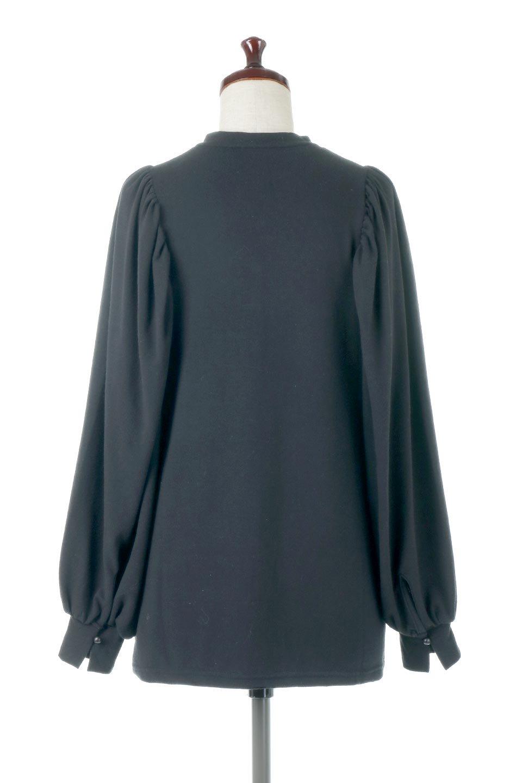 VolumeSleeveSoftBlouseボリュームスリーブ・起毛ブラウス大人カジュアルに最適な海外ファッションのothers(その他インポートアイテム)のトップスやシャツ・ブラウス。ふんわりとした起毛のカットソー生地を使ったブラウス。ボリュームスリーブは肩の切替しにたっぷりとギャザーを入れ、落ち感を綺麗に出してくれます。/main-9