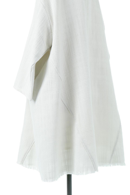TweedTunicDressツイード・チュニックワンピース大人カジュアルに最適な海外ファッションのothers(その他インポートアイテム)のワンピースやミディワンピース。ツイード素材をおしゃれに落とし込んだワイドなAラインのワンピース。コンサバのイメージが強いツイードをカジュアルに着て頂ける様にデザインをしたワンピース。/main-17