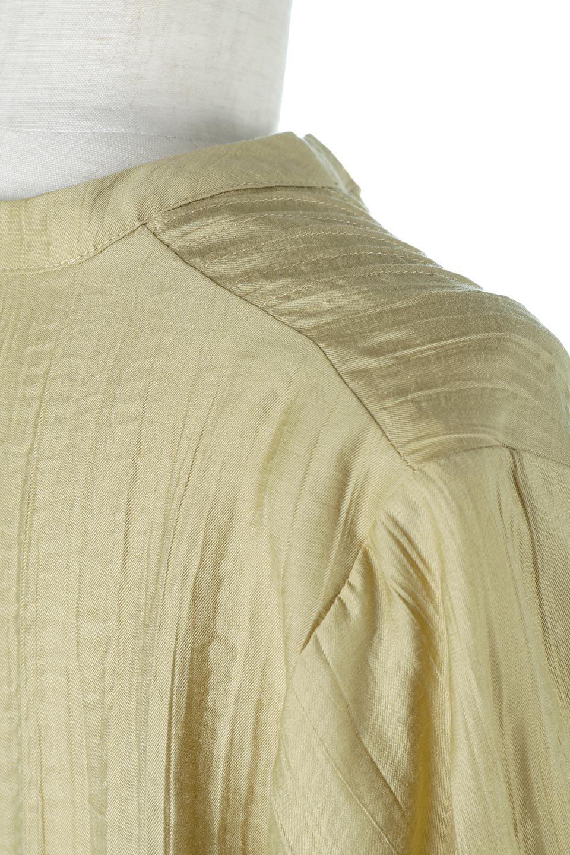PinTuckFlareLongDressピンタック・ロングワンピース大人カジュアルに最適な海外ファッションのothers(その他インポートアイテム)のワンピースやマキシワンピース。広がりを抑えたシルエットに仕上げ、全体を落ち着いた雰囲気に落とし込んだワンピース。フロントは細かいタックを施したクセのないデザインで、胸元の開きは深めにし、すっきりした印象に。/main-14