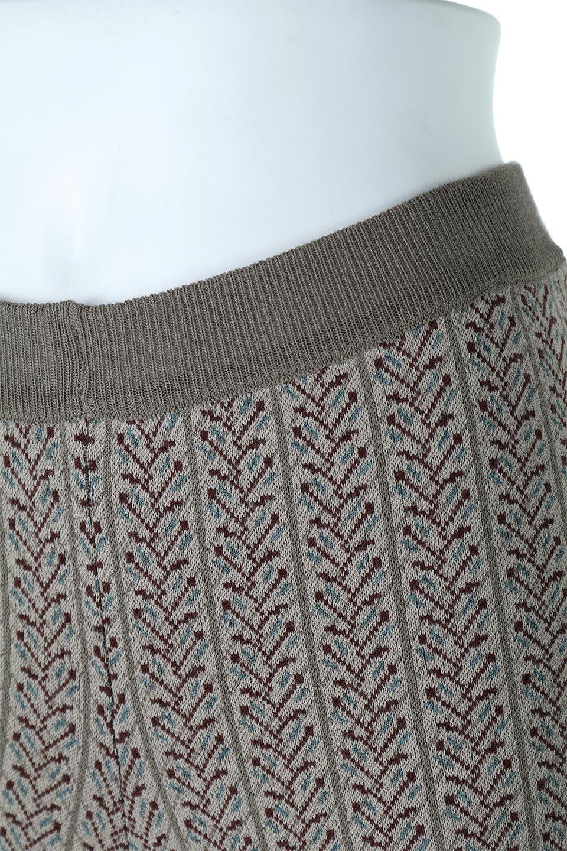 JacquardWeaveSoftKnitPantsソフトジャカード・ニットパンツ大人カジュアルに最適な海外ファッションのothers(その他インポートアイテム)のボトムやパンツ。オリジナルの幾何学な花柄を4色の糸を使いレトロに表現したジャカード織りのロングパンツ。柄のパンツに抵抗がある方でも試しやすいニュアンス感がある曖昧なカラーで、「日常に馴染み」「大人のはずし」に丁度よいソフトな履き心地のパンツです。/main-8