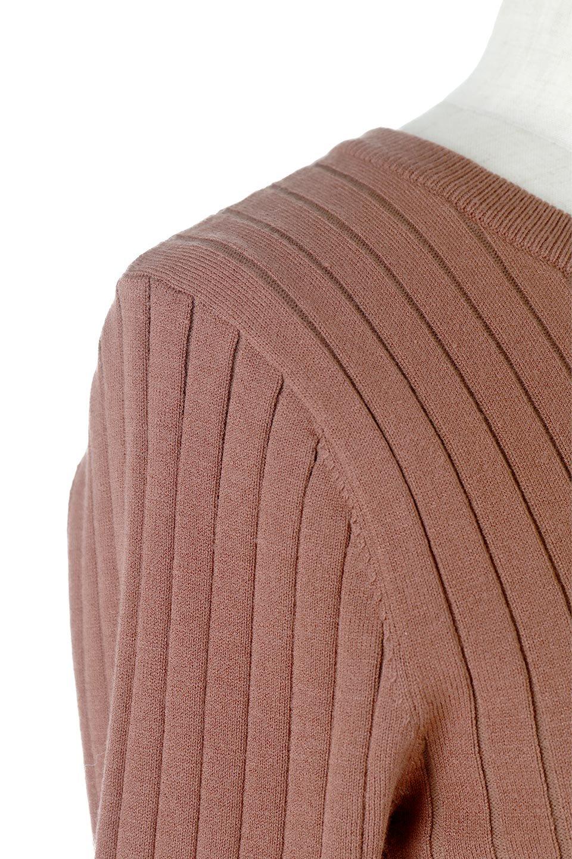 WideRibbedSummerKnitTopワイドリブ・サマーニットトップス大人カジュアルに最適な海外ファッションのothers(その他インポートアイテム)のトップスやニット・セーター。夏でも着れるシンプルデザインのサマーニット。バストラインがきれいに見えるカットラインがポイント。/main-14