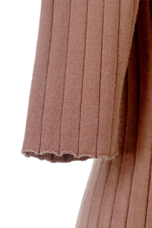 WideRibbedSummerKnitTopワイドリブ・サマーニットトップス大人カジュアルに最適な海外ファッションのothers(その他インポートアイテム)のトップスやニット・セーター。夏でも着れるシンプルデザインのサマーニット。バストラインがきれいに見えるカットラインがポイント。/main-18