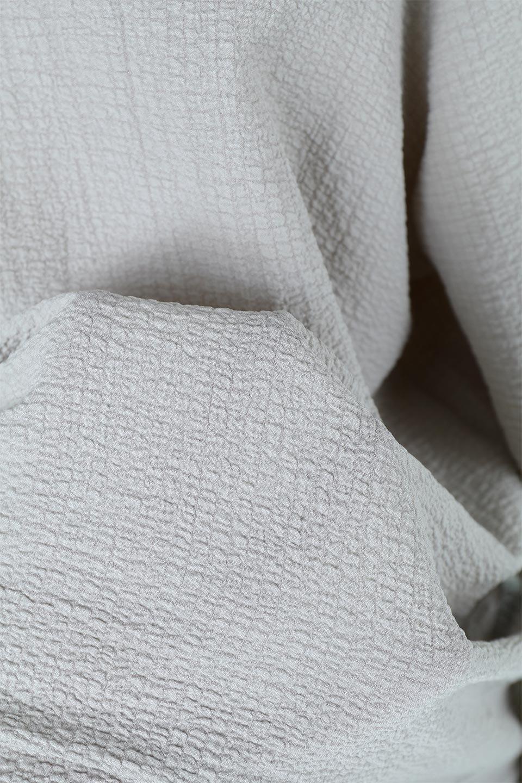 2WayRippleBlouse2ウェイ・リップル加工ブラウス大人カジュアルに最適な海外ファッションのothers(その他インポートアイテム)のトップスやシャツ・ブラウス。凹凸感があり肌触りの良いリップル生地を使用した7分袖のブラウス。シンプルデザインですが前後ろどちらでも着用可能な2Wayタイプ。/main-21