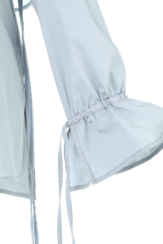 FauxLayeredCandySleeveBlouseシアーサテン・ドッキングブラウス大人カジュアルに最適な海外ファッションのothers(その他インポートアイテム)のトップスやシャツ・ブラウス。春らしい軽やかなシアー感のあるサテンをドッキングさせた長袖ブラウス。ニットベストとのドッキングブラウスよりも春夏向けのアイテム。/main-19