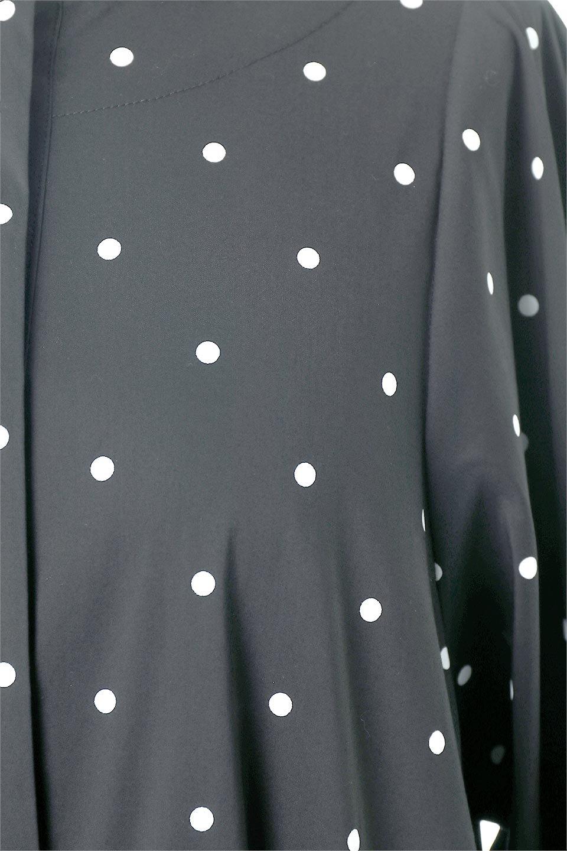 VolumeSleeveDottedLongDressボリュームスリーブ・ドットワンピース大人カジュアルに最適な海外ファッションのothers(その他インポートアイテム)のワンピースやマキシワンピース。定番人気のドット柄「大人フェミニン」な主役ワンピース。コーデをグっと女っぽく仕上げてくれるドット柄にたっぷりのボリューム袖が素敵なワンピースです。/main-17