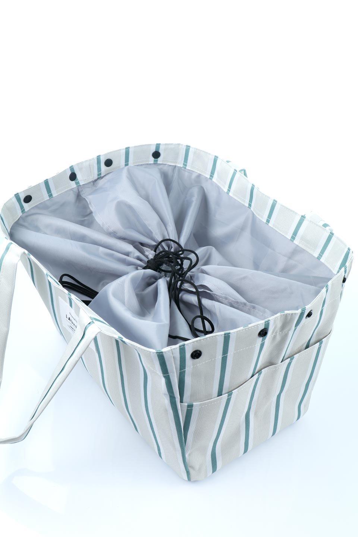 FoldingShoppingCoolerBasket(Stripe)保冷保温・折りたたみレジカゴエコバッグ(ストライプ・グレー)大人カジュアルに最適な海外ファッションのothers(その他インポートアイテム)のバッグやその他。レジカゴにジャストフィットの折りたたみエコバッグ。保温、保冷効果を高めるアルミ加工で、両サイドのポケットは保冷剤を入れて更に保冷効果を高めることができます。/main-11