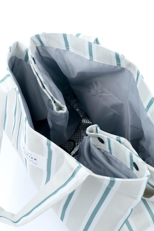FoldingShoppingCoolerBasket(Stripe)保冷保温・折りたたみレジカゴエコバッグ(ストライプ・グレー)大人カジュアルに最適な海外ファッションのothers(その他インポートアイテム)のバッグやその他。レジカゴにジャストフィットの折りたたみエコバッグ。保温、保冷効果を高めるアルミ加工で、両サイドのポケットは保冷剤を入れて更に保冷効果を高めることができます。/main-14