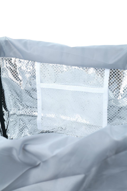 FoldingShoppingCoolerBasket(Stripe)保冷保温・折りたたみレジカゴエコバッグ(ストライプ・グレー)大人カジュアルに最適な海外ファッションのothers(その他インポートアイテム)のバッグやその他。レジカゴにジャストフィットの折りたたみエコバッグ。保温、保冷効果を高めるアルミ加工で、両サイドのポケットは保冷剤を入れて更に保冷効果を高めることができます。/main-19