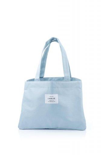 海外ファッションや大人カジュアルに最適なインポートセレクトアイテムのFolding Shopping Cooler Basket (Smoke Blue) 保冷保温・折りたたみレジカゴエコバッグ(スモークブルー)