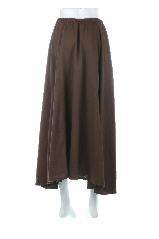 LinenMixLongSummerSkirt麻混・フレアロングスカート大人カジュアルに最適な海外ファッションのothers(その他インポートアイテム)のボトムやスカート。リネンのさらっとした風合いとレーヨンのしなやかさを兼ね備えたロング丈のフレアスカート。リネンとレーヨンをほぼ半々に混ぜ込んだ生地は、程よいハリがありながらもしなやかに落ちて綺麗なシルエットを作ってくれます。/main-14