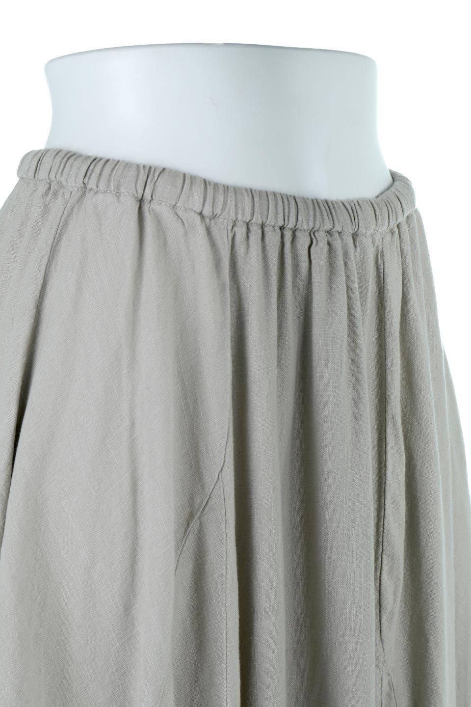 LinenMixLongSummerSkirt麻混・フレアロングスカート大人カジュアルに最適な海外ファッションのothers(その他インポートアイテム)のボトムやスカート。リネンのさらっとした風合いとレーヨンのしなやかさを兼ね備えたロング丈のフレアスカート。リネンとレーヨンをほぼ半々に混ぜ込んだ生地は、程よいハリがありながらもしなやかに落ちて綺麗なシルエットを作ってくれます。/main-15