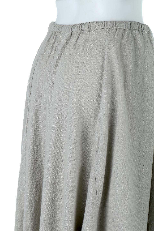 LinenMixLongSummerSkirt麻混・フレアロングスカート大人カジュアルに最適な海外ファッションのothers(その他インポートアイテム)のボトムやスカート。リネンのさらっとした風合いとレーヨンのしなやかさを兼ね備えたロング丈のフレアスカート。リネンとレーヨンをほぼ半々に混ぜ込んだ生地は、程よいハリがありながらもしなやかに落ちて綺麗なシルエットを作ってくれます。/main-16