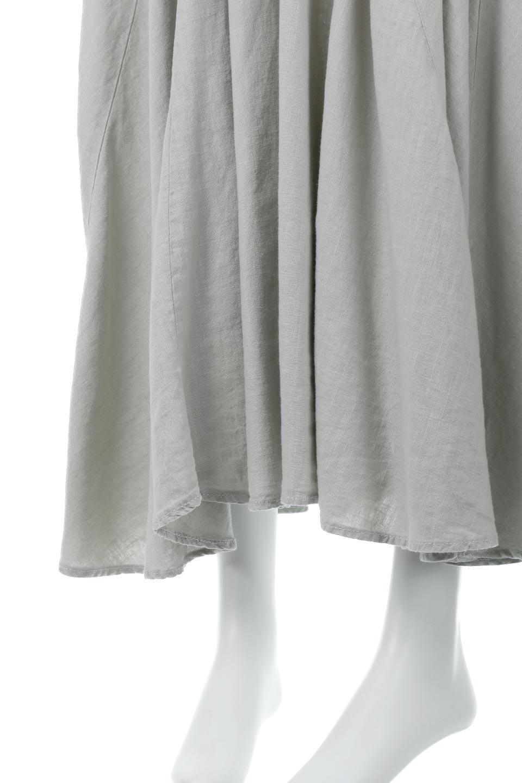 LinenMixLongSummerSkirt麻混・フレアロングスカート大人カジュアルに最適な海外ファッションのothers(その他インポートアイテム)のボトムやスカート。リネンのさらっとした風合いとレーヨンのしなやかさを兼ね備えたロング丈のフレアスカート。リネンとレーヨンをほぼ半々に混ぜ込んだ生地は、程よいハリがありながらもしなやかに落ちて綺麗なシルエットを作ってくれます。/main-19