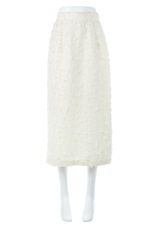 CutJacquardNarrowSkirtカットジャカード・ナロースカート大人カジュアルに最適な海外ファッションのothers(その他インポートアイテム)のボトムやスカート。絶妙な丈の長さとシルエットが特徴のナロースカート。ふさふさシャギーでカジュアル感、柄のジャカード織りで高級感。