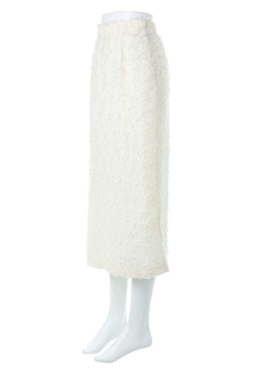 CutJacquardNarrowSkirtカットジャカード・ナロースカート大人カジュアルに最適な海外ファッションのothers(その他インポートアイテム)のボトムやスカート。絶妙な丈の長さとシルエットが特徴のナロースカート。ふさふさシャギーでカジュアル感、柄のジャカード織りで高級感。/main-1