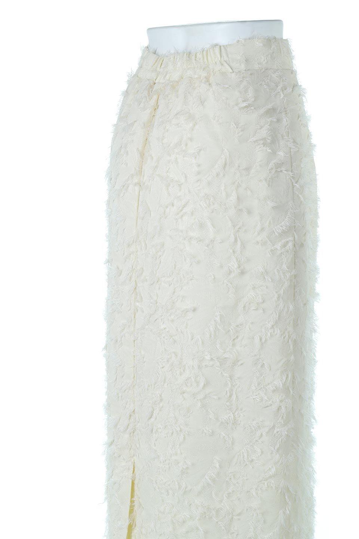 CutJacquardNarrowSkirtカットジャカード・ナロースカート大人カジュアルに最適な海外ファッションのothers(その他インポートアイテム)のボトムやスカート。絶妙な丈の長さとシルエットが特徴のナロースカート。ふさふさシャギーでカジュアル感、柄のジャカード織りで高級感。/main-11