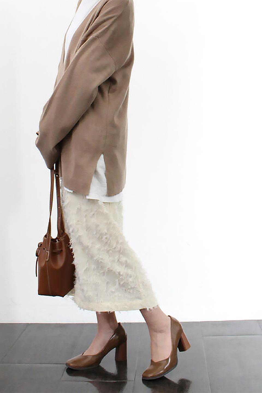 CutJacquardNarrowSkirtカットジャカード・ナロースカート大人カジュアルに最適な海外ファッションのothers(その他インポートアイテム)のボトムやスカート。絶妙な丈の長さとシルエットが特徴のナロースカート。ふさふさシャギーでカジュアル感、柄のジャカード織りで高級感。/main-19