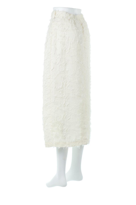 CutJacquardNarrowSkirtカットジャカード・ナロースカート大人カジュアルに最適な海外ファッションのothers(その他インポートアイテム)のボトムやスカート。絶妙な丈の長さとシルエットが特徴のナロースカート。ふさふさシャギーでカジュアル感、柄のジャカード織りで高級感。/main-3