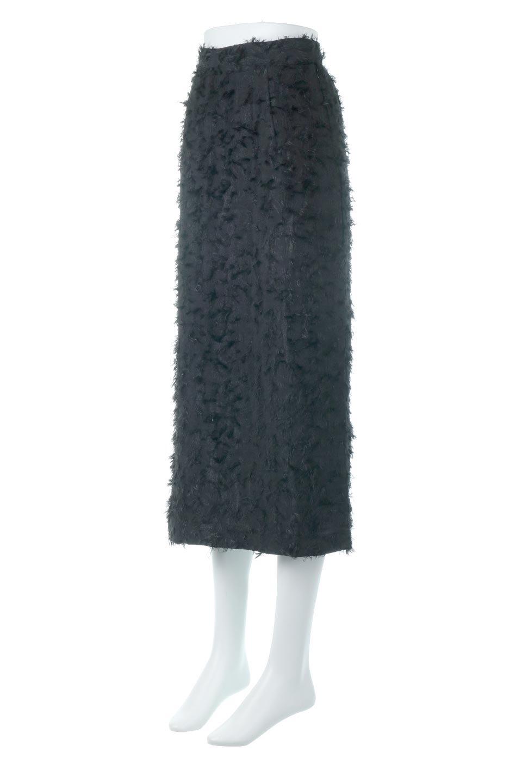 CutJacquardNarrowSkirtカットジャカード・ナロースカート大人カジュアルに最適な海外ファッションのothers(その他インポートアイテム)のボトムやスカート。絶妙な丈の長さとシルエットが特徴のナロースカート。ふさふさシャギーでカジュアル感、柄のジャカード織りで高級感。/main-6