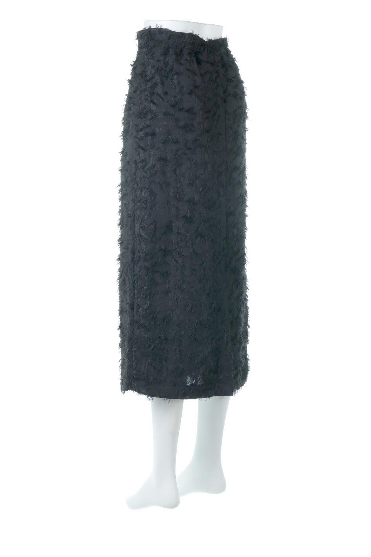 CutJacquardNarrowSkirtカットジャカード・ナロースカート大人カジュアルに最適な海外ファッションのothers(その他インポートアイテム)のボトムやスカート。絶妙な丈の長さとシルエットが特徴のナロースカート。ふさふさシャギーでカジュアル感、柄のジャカード織りで高級感。/main-8