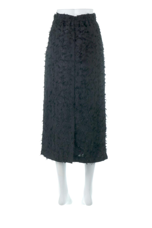 CutJacquardNarrowSkirtカットジャカード・ナロースカート大人カジュアルに最適な海外ファッションのothers(その他インポートアイテム)のボトムやスカート。絶妙な丈の長さとシルエットが特徴のナロースカート。ふさふさシャギーでカジュアル感、柄のジャカード織りで高級感。/main-9