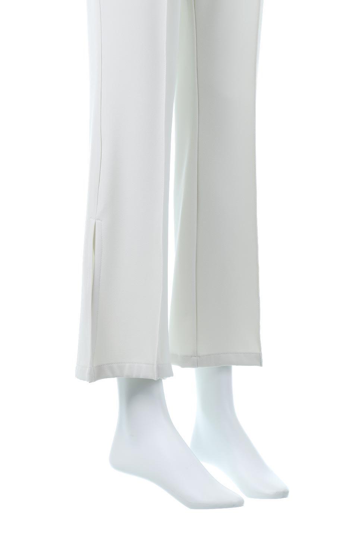 SideSlitSemiFlarePantsサイドスリット・セミフレアパンツ大人カジュアルに最適な海外ファッションのothers(その他インポートアイテム)のボトムやパンツ。クリースステッチ入りのサイドスリットフレアパンツ。キッチリ感もありながらスリットのヌケ感もあり、様々なシーンで活躍しそうなパンツです。/main-21