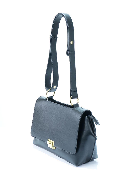 meliebiancoのErica(Black)2ウェイストラップ・ヘキサショルダーバッグ/海外ファッション好きにオススメのインポートバッグとかばん、MelieBianco(メリービアンコ)のバッグやショルダーバッグ。六角形のシルエットが可愛い程よいサイズ感のショルダーバッグ。ストラップはロングとショートの2パターンで楽しめます。/main-5