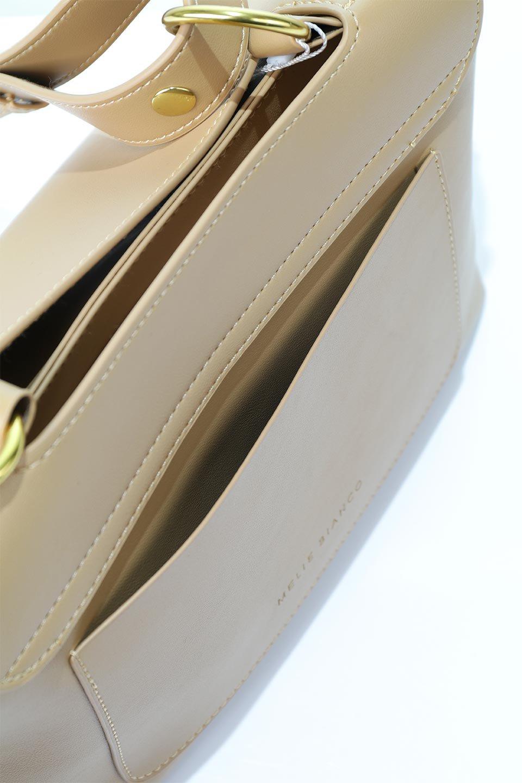 meliebiancoのErica(Tan)2ウェイストラップ・ヘキサショルダーバッグ/海外ファッション好きにオススメのインポートバッグとかばん、MelieBianco(メリービアンコ)のバッグやショルダーバッグ。六角形のシルエットが可愛い程よいサイズ感のショルダーバッグ。ストラップはロングとショートの2パターンで楽しめます。/main-8