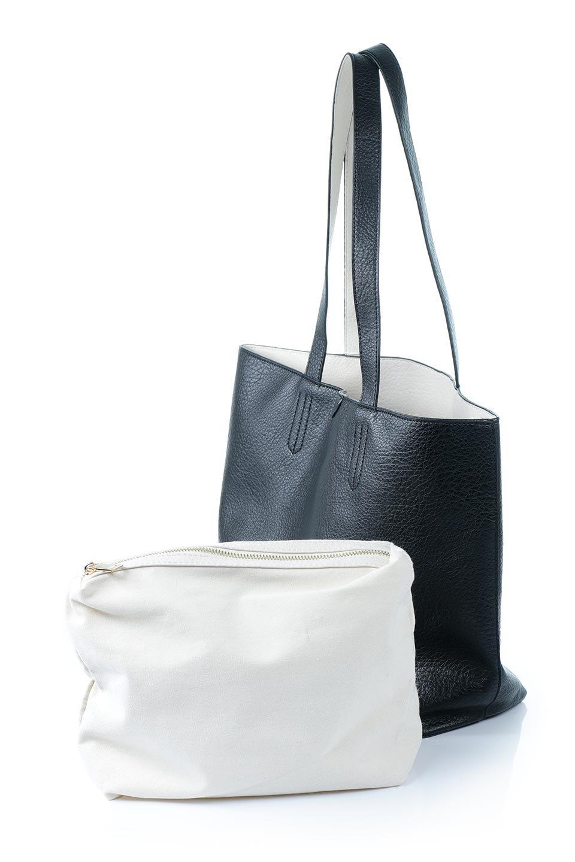 meliebiancoのDenise(Black)ポーチ付き・リバーシブルトートバッグ/海外ファッション好きにオススメのインポートバッグとかばん、MelieBianco(メリービアンコ)のバッグやトートバッグ。シンプルなキャンバスポーチが付いたシンプルなトートバッグ。ソフトでなめらかなメリービアンコ独自のプレミアムビーガンレザーを使用。/main-11