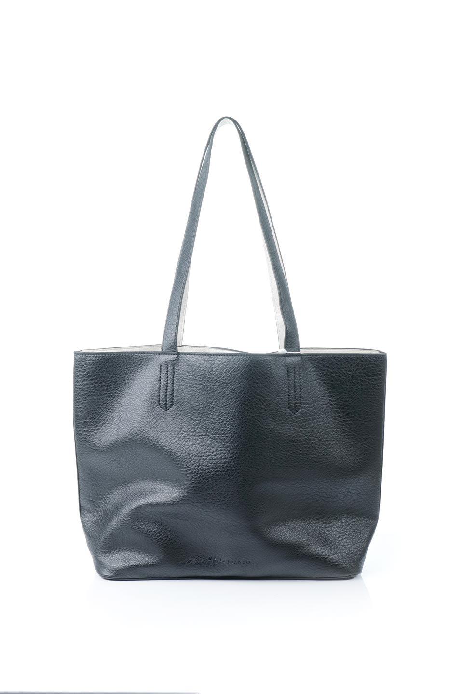 meliebiancoのDenise(Black)ポーチ付き・リバーシブルトートバッグ/海外ファッション好きにオススメのインポートバッグとかばん、MelieBianco(メリービアンコ)のバッグやトートバッグ。シンプルなキャンバスポーチが付いたシンプルなトートバッグ。ソフトでなめらかなメリービアンコ独自のプレミアムビーガンレザーを使用。/main-4