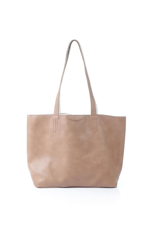 meliebiancoのDenise(Tan)ポーチ付き・リバーシブルトートバッグ/海外ファッション好きにオススメのインポートバッグとかばん、MelieBianco(メリービアンコ)のバッグやトートバッグ。シンプルなキャンバスポーチが付いたシンプルなトートバッグ。ソフトでなめらかなメリービアンコ独自のプレミアムビーガンレザーを使用。