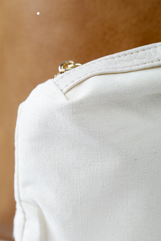meliebiancoのDenise(Tan)ポーチ付き・リバーシブルトートバッグ/海外ファッション好きにオススメのインポートバッグとかばん、MelieBianco(メリービアンコ)のバッグやトートバッグ。シンプルなキャンバスポーチが付いたシンプルなトートバッグ。ソフトでなめらかなメリービアンコ独自のプレミアムビーガンレザーを使用。/main-10