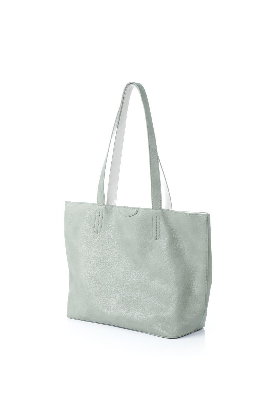 meliebiancoのDenise(Mint)ポーチ付き・リバーシブルトートバッグ/海外ファッション好きにオススメのインポートバッグとかばん、MelieBianco(メリービアンコ)のバッグやトートバッグ。シンプルなキャンバスポーチが付いたシンプルなトートバッグ。ソフトでなめらかなメリービアンコ独自のプレミアムビーガンレザーを使用。/main-1