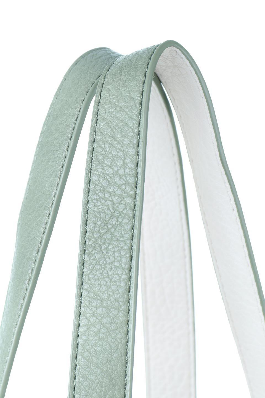 meliebiancoのDenise(Mint)ポーチ付き・リバーシブルトートバッグ/海外ファッション好きにオススメのインポートバッグとかばん、MelieBianco(メリービアンコ)のバッグやトートバッグ。シンプルなキャンバスポーチが付いたシンプルなトートバッグ。ソフトでなめらかなメリービアンコ独自のプレミアムビーガンレザーを使用。/main-5